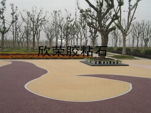 苏州尹山湖公园广场内