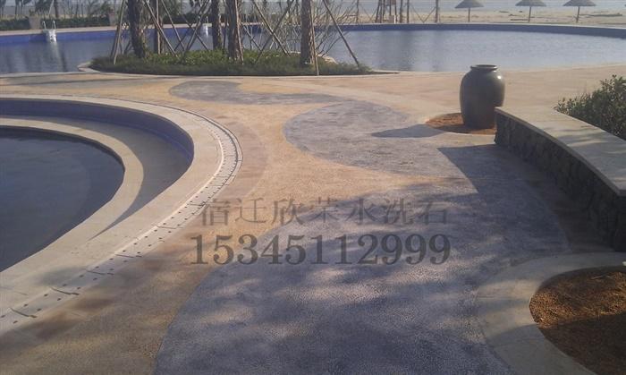 水洗石施工案例